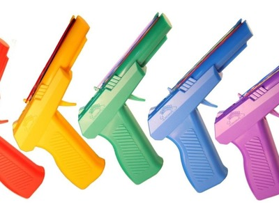 The Bow Slinger - 6 round Rainbow Loom Rubber Band Gun Australia