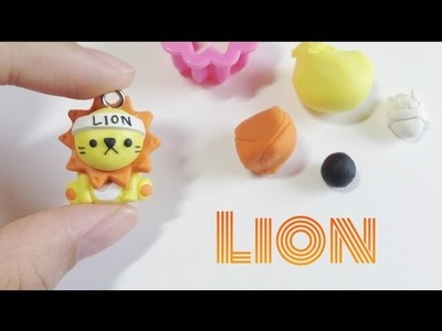 Tutorial : Polymer Clay Cute Lion
