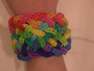 10 different bracelets you can make using fishtails! Part 5, 9 strand and 11 strand cuff