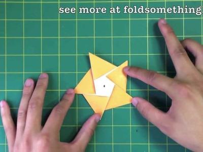 5 point start from pentagonal paper