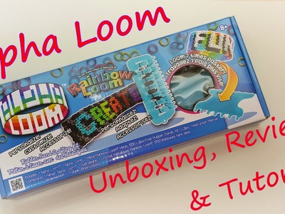 Alpha Loom Unboxing, Review & Tutorial by feelinspiffy (Rainbow Loom)