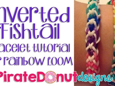 Basic Inverted Fishtail Bracelet Rainbow Loom Tutorial