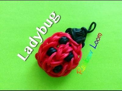 EASY Rainbow Loom Ladybug Charm
