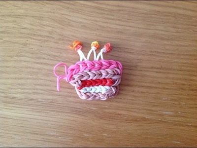 How To Make A Rainbow Loom Birthday Cake