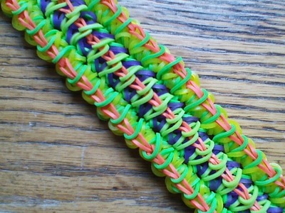 NEW Rainbow Loom District 12 Bracelet