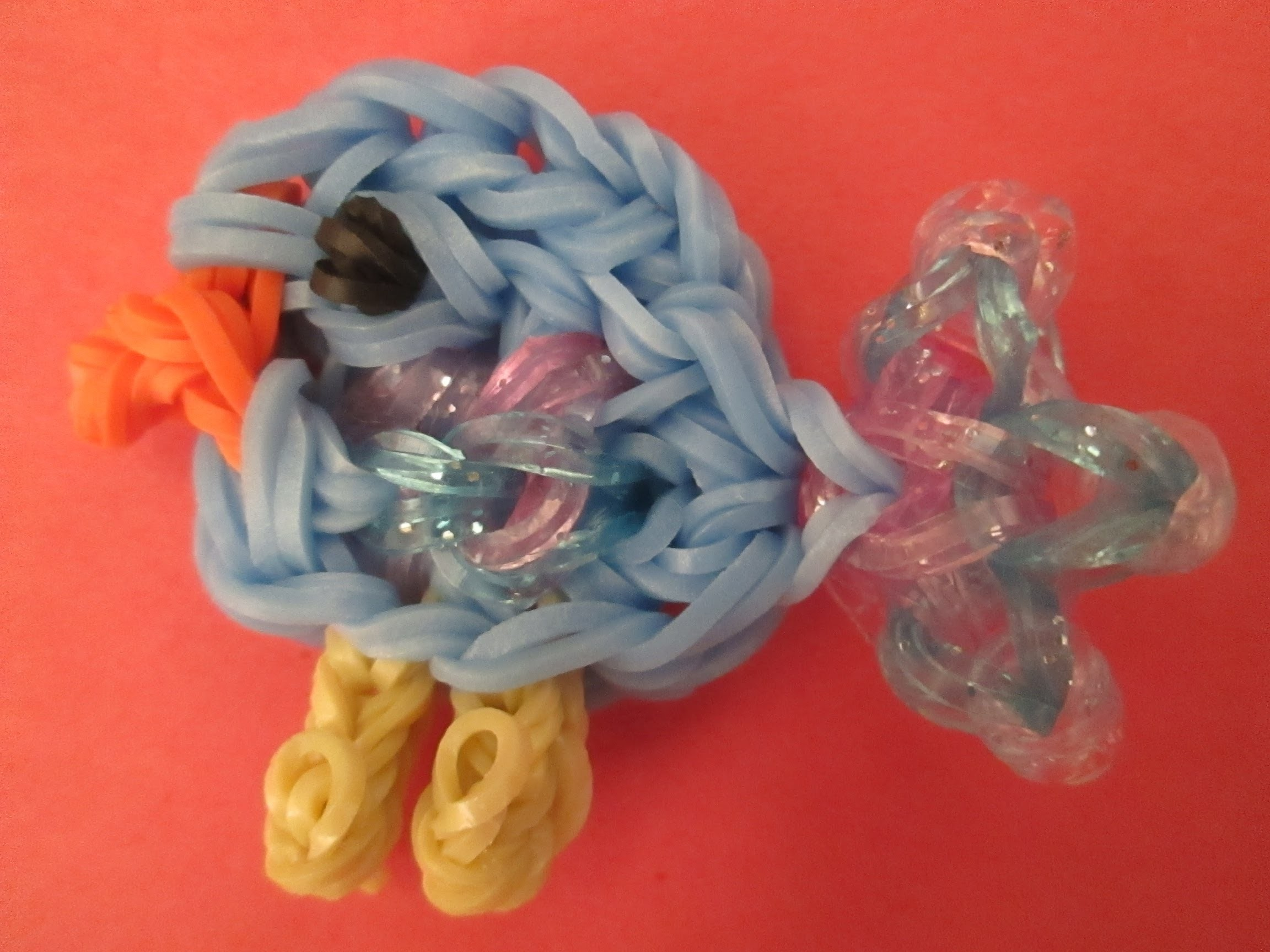 Rainbow Loom Baby Bird Charm