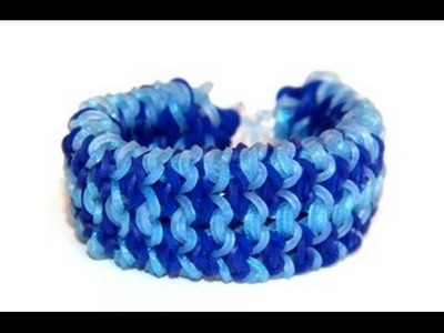 Rainbow Loom - Georgia Bracelet - English Tutorial - Monstertail - Loom bands