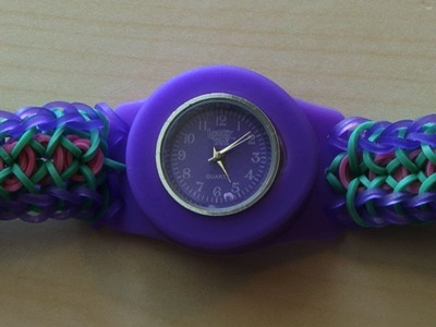 RAINBOW LOOM LOOMEY TIME CRIS CROSS CONFETTI WATCH