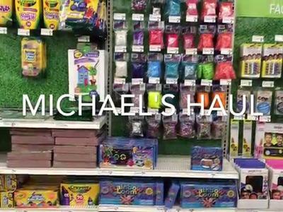Rainbow Loom Michael's Haul!