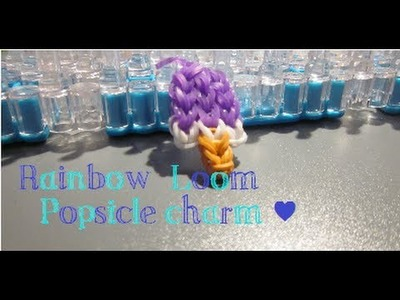 Rainbow Loom: POPSICLE charm - ABCrafts