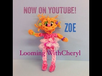 Rainbow Loom Zoe Muppets From Sesame Street - Looming WithCheryl