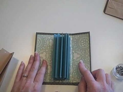 Accordion Pocket Binding for a Mini Album