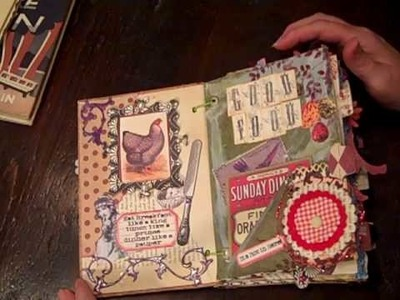 Altered recipe junk journal Part 1