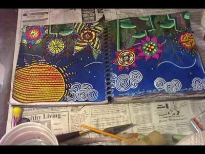 Art Journal Foundations: Tissue Paper