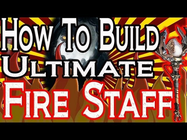 """""""Black Ops 2 Origins"""" How To Build ULTIMATE Fire Staff! Black Ops 2 Origins """"Upgrade Fire Staff"""""""