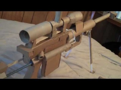 Cardboard Gun Call of Duty Intervention And G36