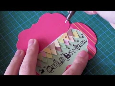 CCM - How to make a cute flip flap card