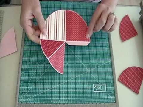 Circle Flip Up Book