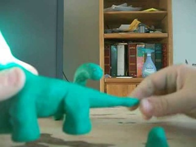 Clay Dinosaur Tutorial