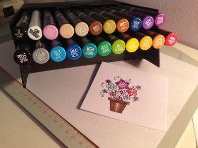 Colouring using Chameleon Pens (Tutorial)