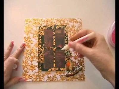Cricut Christmas Window Card