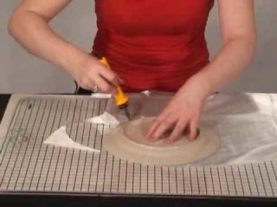 Cutting Fabric with a Hot Knife
