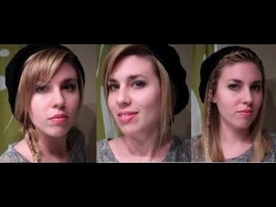 Easy Hairstyles for Hats. Berets: hairstyles for long hair & hairstyles for medium hair