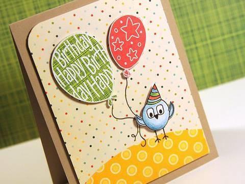 Finally Friday - Happy Birthday Balloons