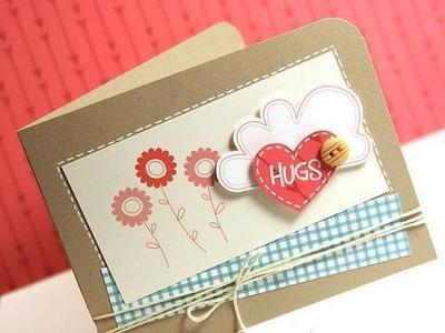 Finally Friday - Hugs (Hybrid Card)