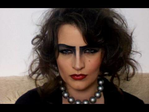 FRANK-N-FURTER COSTUME MAKE-UP TUTORIAL