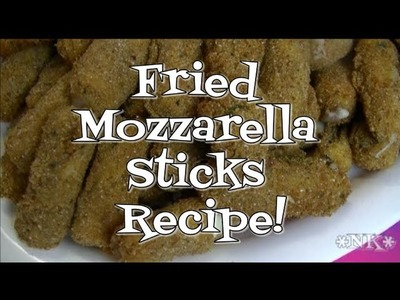 Fried Mozzarella Sticks Recipe!  Noreen's Kitchen
