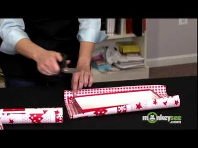Gift Wrap with Shoe Boxes