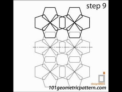 How To Create Geometric Pattern : Tutorial pattern 1