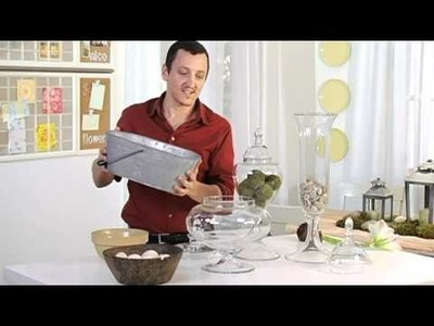 How to Decorate Using Vase Fillers with Nico De Swert | Pottery Barn