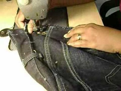 How to Decrease the Waistline on Jeans I_0001.wmv