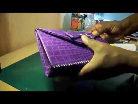 How to Make a Clutch Handbag