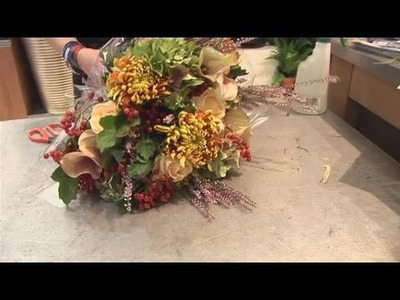 How To Make A Fall Bouquet Arrangement