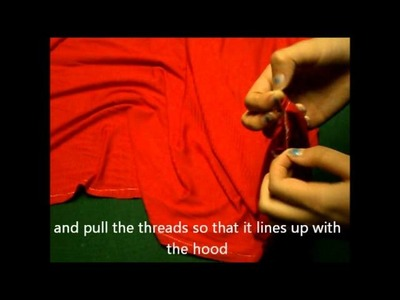 How To Make A Red Riding Hood Cape