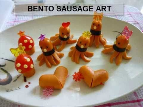 How To Make Bento Box Lunch - Octopus Sausage And More (Kawaii!)