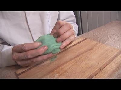 How To Make Blue Playdough At Home