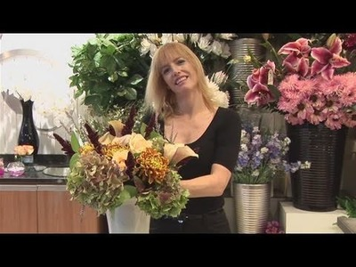 How To Make Flower Arrangement In A Vase
