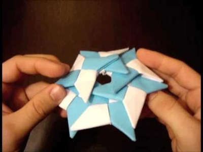 How to Make the Super Ninja Star (6-Pointed Shuriken)