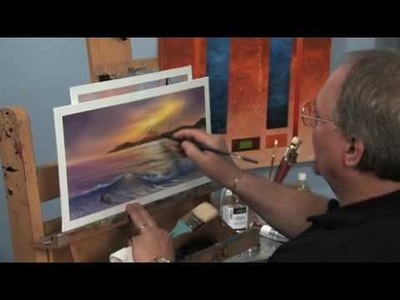 How to Paint Sunrays