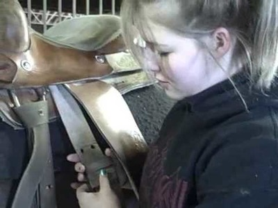 How to Saddle.Bridle a horse western