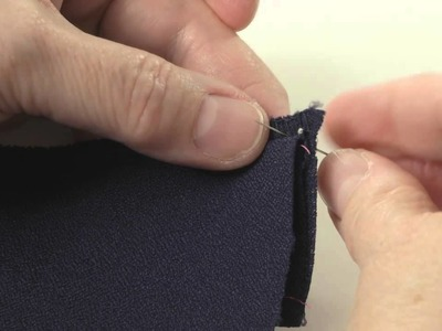 How to Sew a Figure-eight Stitch