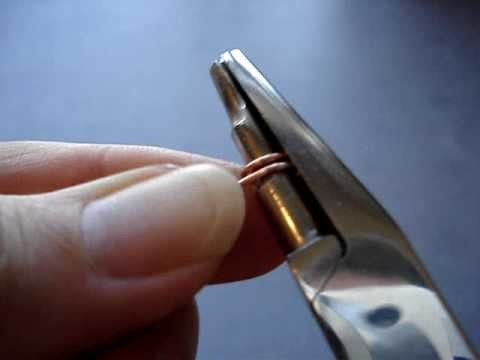 How to use a 3 step wire looping pliers
