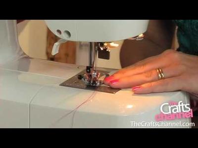 How to use zig-zag stitch as an overlocking stitch
