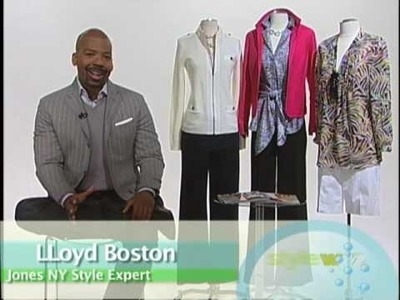How To Wear It with Jones New York Style Expert Lloyd Boston