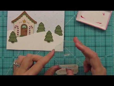 Intro to Sweet Christmas + a card from start to finish { Lawn Fawn }