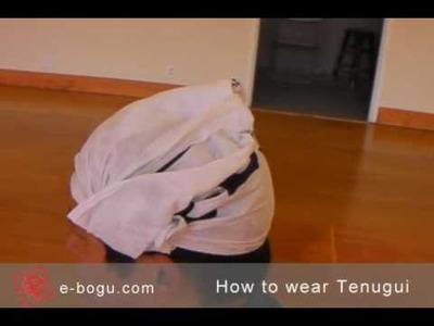 Kendo101: How to wear Tenugui for Kendo?